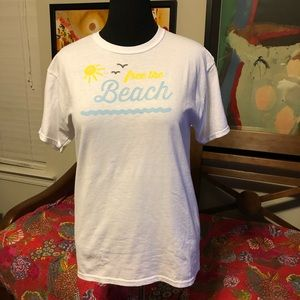 SOWAL Beaches unisex Tee M 50/50 blend Seaside FL